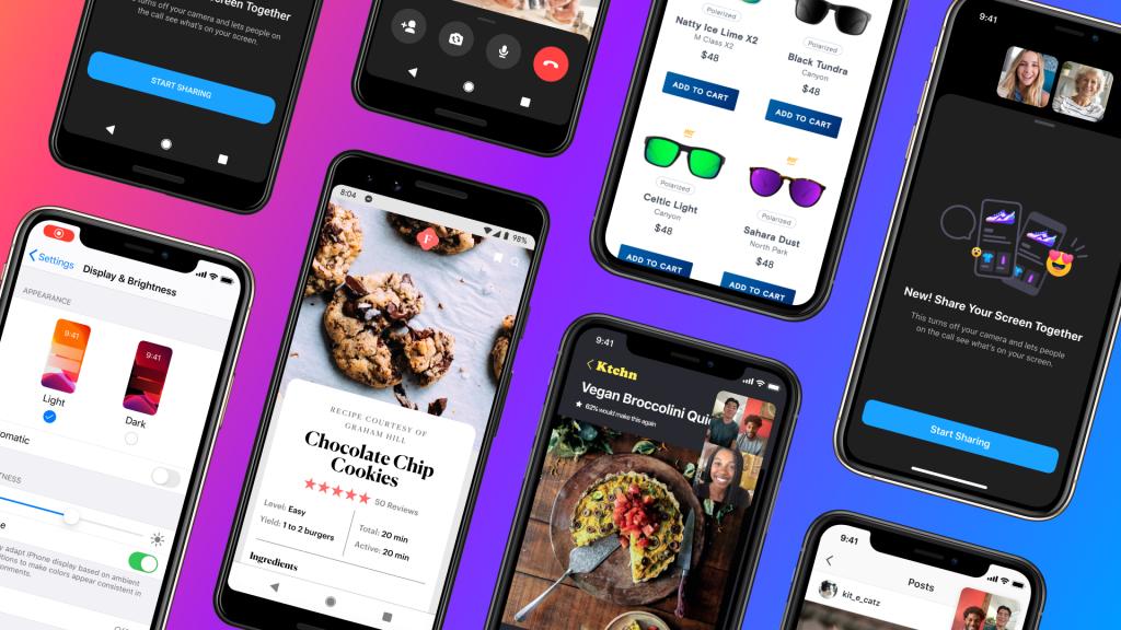 Facebook Messenger bổ sung tính năng chia sẻ màn hình qua cuộc gọi video cho Android và iOS