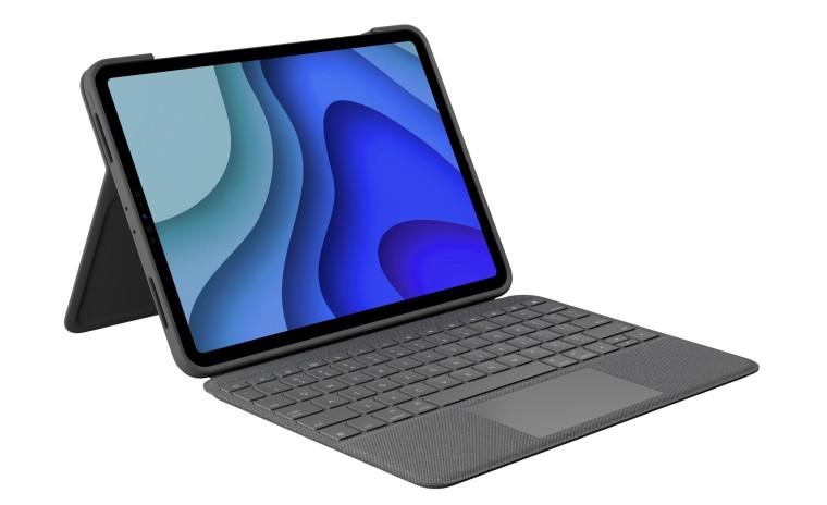 Logitech trình làng bàn phím Folio Touch dạng vỏ gập cho iPad Pro 11 inch