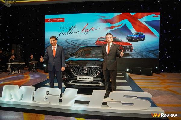 MG ra mắt hai mẫu xe MG ZS và MG HS tại Việt Nam, chốt giá thấp nhất 518 triệu đồng
