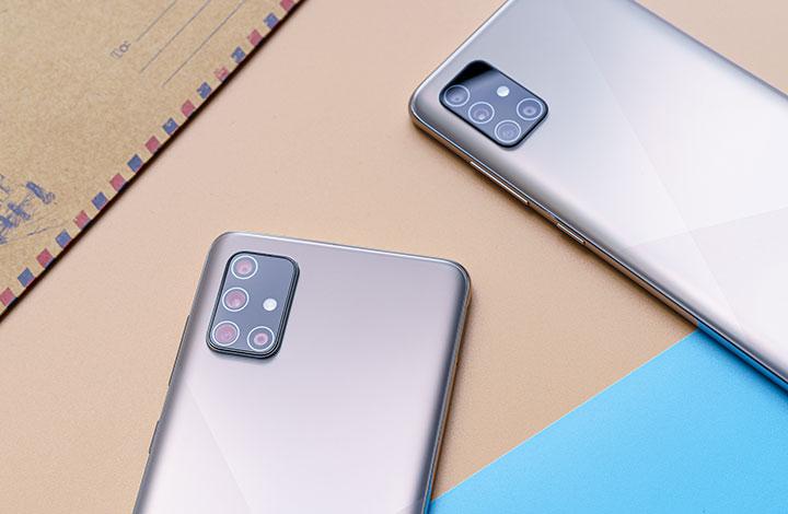 Galaxy A51 và A71 ở Việt Nam vừa có tính năng Chụp Một Chạm mới