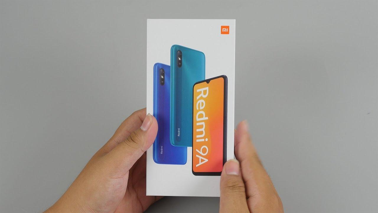 Mở hộp Redmi 9A: Smartphone giá siêu rẻ mới nhất của Xiaomi