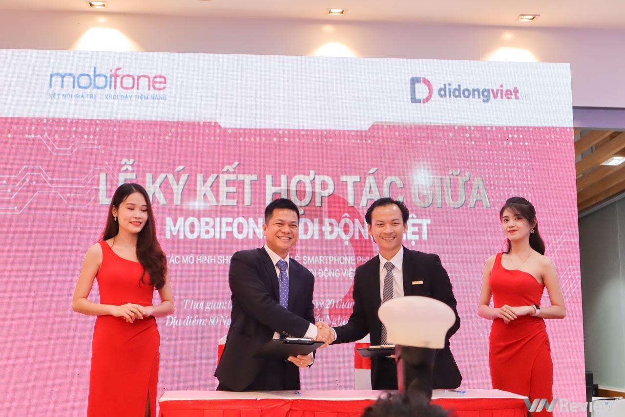 MobiFone hợp tác cùng Di Động Việt mở 11 cửa hàng liên kết Shop in Shop, đặt mục tiêu doanh thu hơn 1500 tỷ đồng