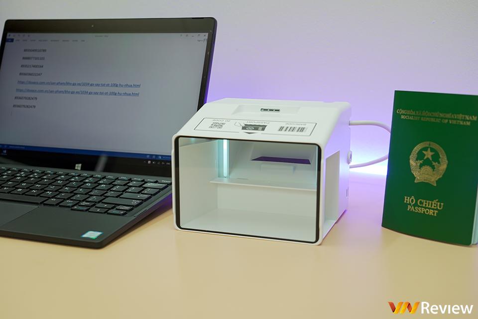 Trải nghiệm Opticon PR-11: máy quét hộ chiếu chuyên dụng