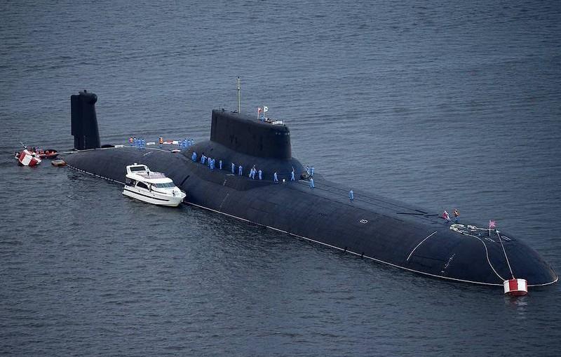 Nga chế tạo tàu ngầm hạt nhân mang vũ khí siêu âm