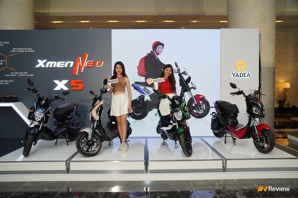 Yadea ra mắt Xmen Neo và Yadea X5, giá thấp nhất 14,99 triệu đồng