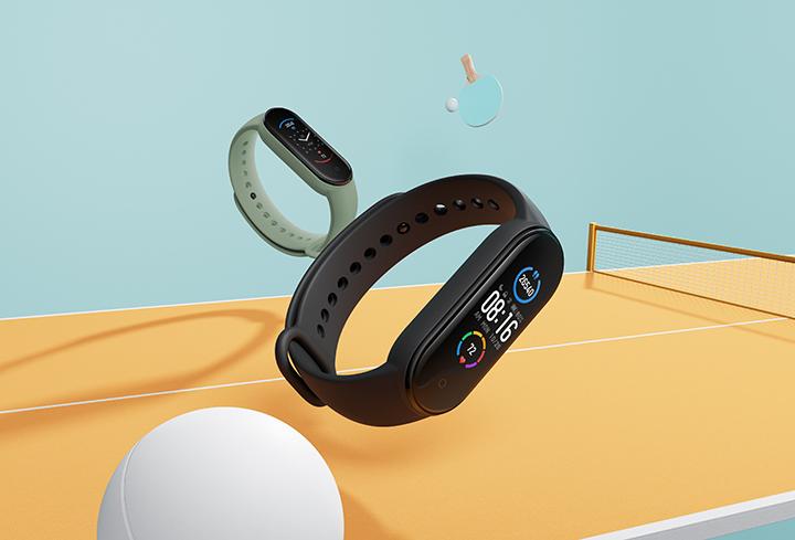 Vòng đeo tay Xiaomi Mi Smart Band 5 có giá 990.000 đồng ở Việt Nam, lên kệ từ 24/7