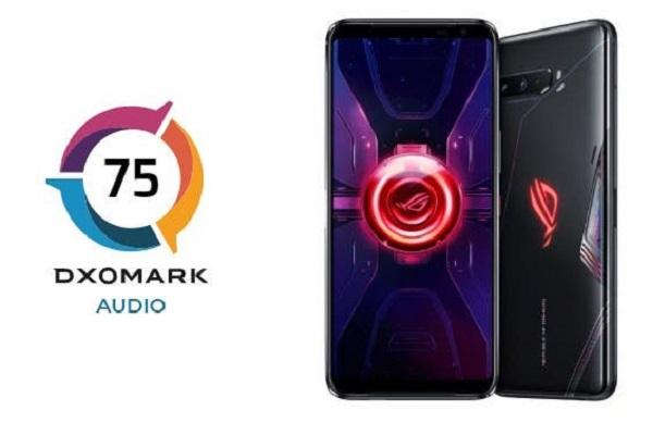ROG Phone 3 được DxOMark Audio xếp hạng là smartphone có âm thanh tốt thứ hai hiện nay