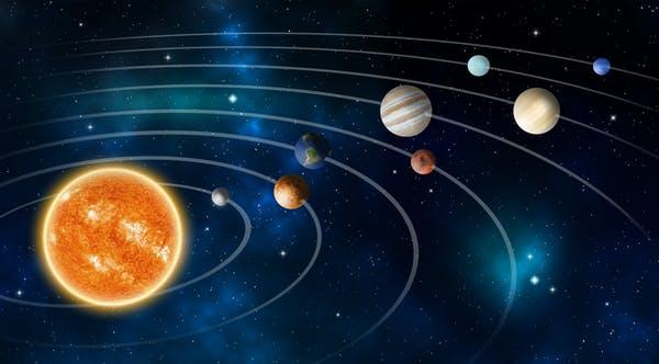 Trọng lực giúp các hành tinh quay xung quanh Mặt Trời theo quỹ đạo (Ảnh: Withan Tor/Shutterstock)