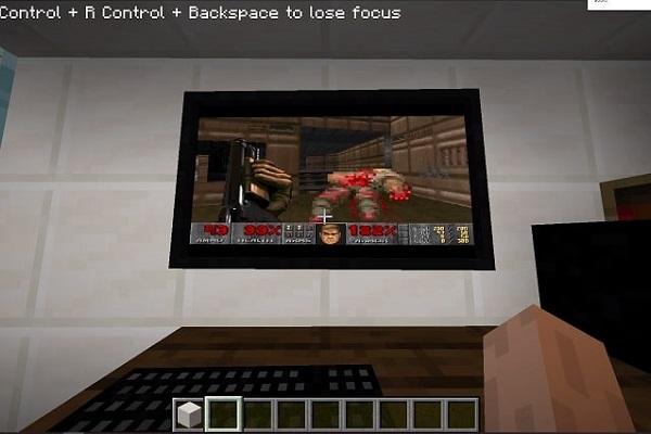 Bản mod cho phép khởi động PC Windows 95 bên trong Minecraft, chơi được cả DOOM