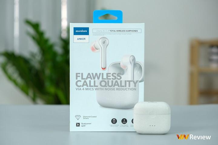 Đánh giá tai nghe true wireless Anker Soundcore Liberty Air 2: Khó đòi hỏi gì thêm trong tầm giá 2 triệu đồng