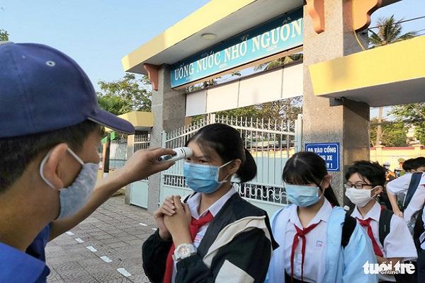 Học sinh Đà Nẵng nghỉ học từ 13h ngày 26-7