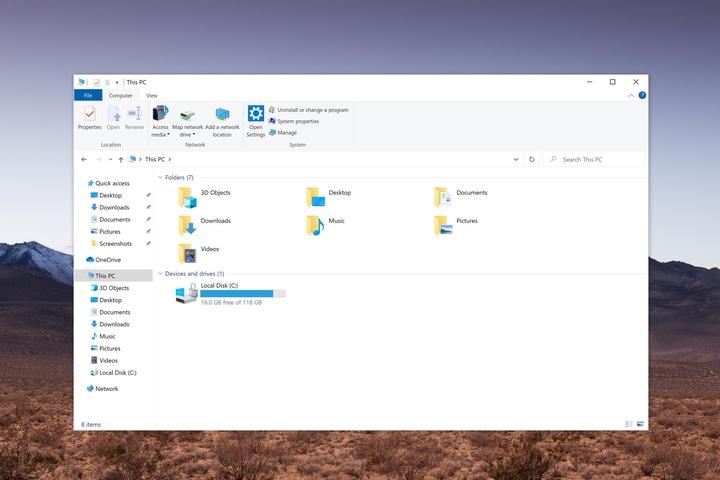 Windows 10 xứng đáng có File Explorer hiện đại hơn