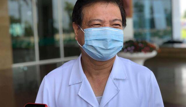 GS.TS Nguyễn Văn Kính - Chủ tịch Hội Truyền nhiễm Việt Nam.