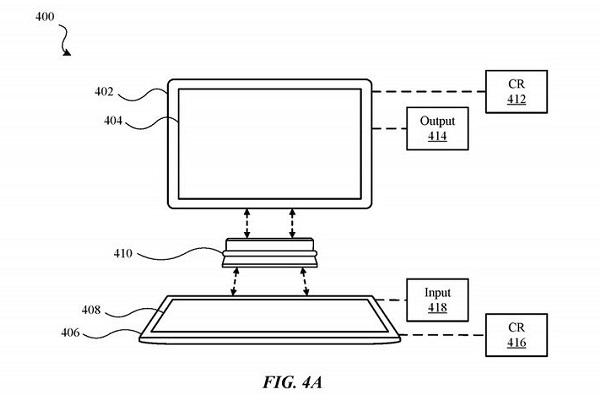 Apple đăng ký sáng chế có thể kết nối 2 iPad với nhau, tạo thành một chiếc máy tính dạng notebook