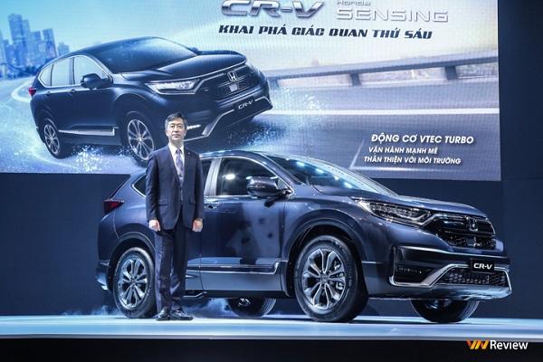 Honda CR-V 2020 ra mắt thị trường Việt Nam: 3 phiên bản, giá từ 998 triệu đồng