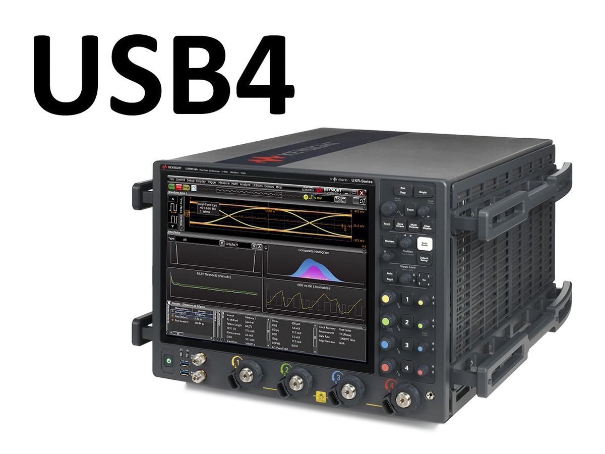 Keysight ra mắt giải pháp đo kiểm USB4 mới