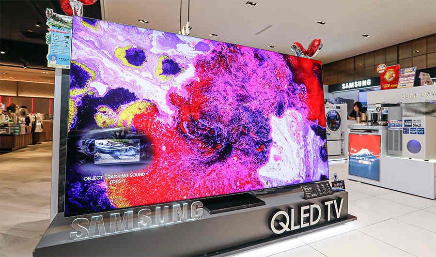 Công ty Đài Loan cung cấp tấm nền LCD 8K không viền cho Samsung