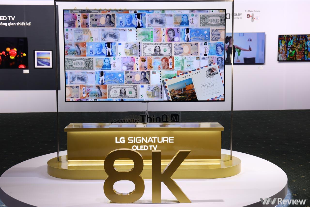 Trên tay TV LG OLED 8K giá từ nửa tỷ đồng tại Việt Nam