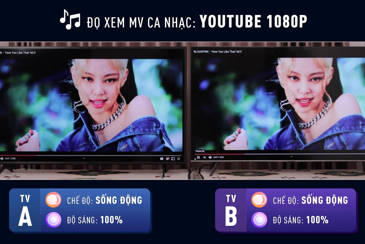 """Công bố kết quả """"đọ súng"""" giấu mặt TV Nhật Hàn: Sony 55X8050H và Samsung 55Q65T"""