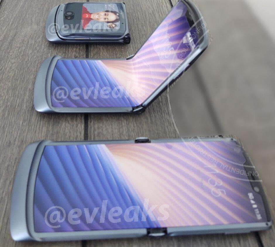 Rò rỉ hình ảnh Motorola RAZR 5G chưa được phát hành
