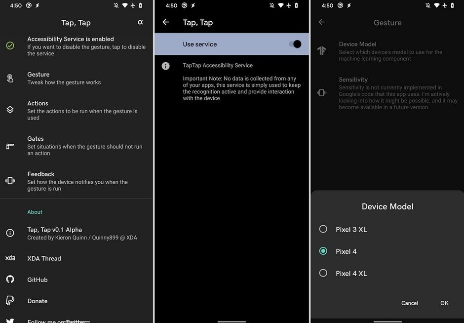 Ứng dụng này sẽ giúp tạo ra cử chỉ nhấp mặt lưng, tương tự như iOS 14, Android 11, cho Android