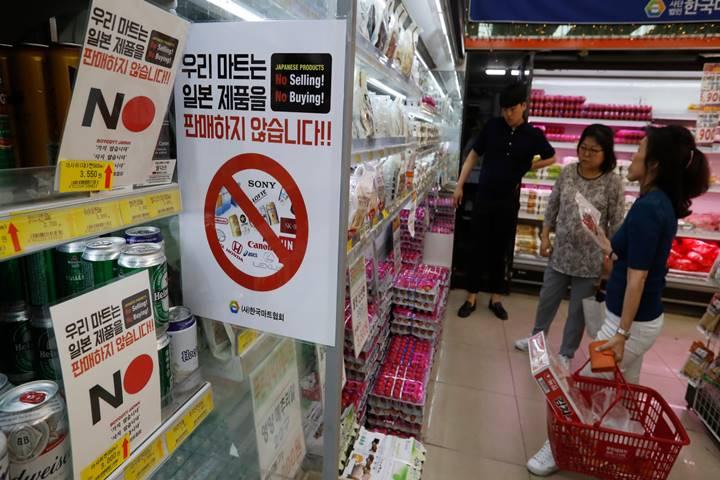 Các doanh nghiệp hàng tiêu dùng Nhật Bản điêu đứng vì làn sóng tẩy chay của Hàn Quốc