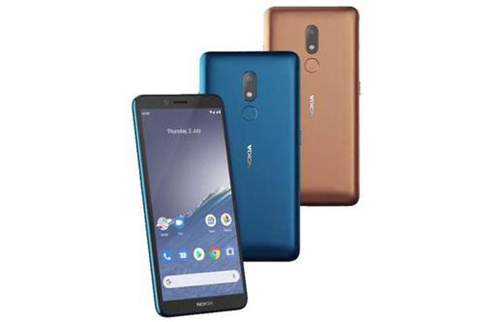 Nokia C3 ra mắt: 5.99 inch, pin 3040 mAh, giá 100 USD
