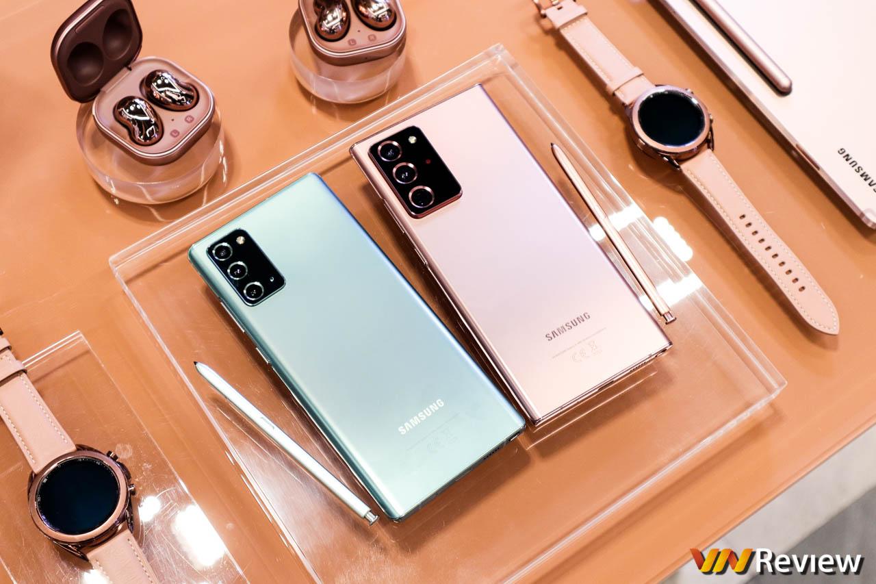 Trên tay nóng Galaxy Note 20 và Note 20 Ultra ngay tại Việt Nam, không còn Note 20+ nữa rồi
