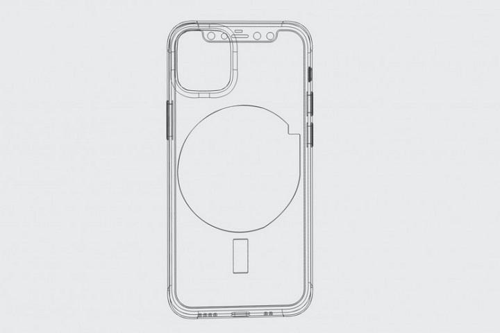 iPhone 12 có sạc không dây với lực hút từ tính nhằm cố định vị trí sạc