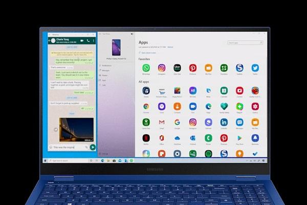 Các ứng dụng Galaxy Note 20 có thể chạy trên Windows 10