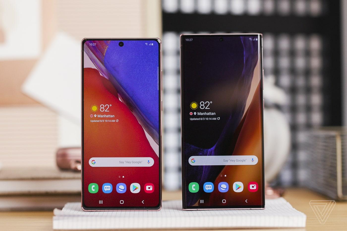 """Samsung Galaxy Note 20 """"hơn thua"""" như thế nào so với tiền nhiệm và các đối thủ?"""