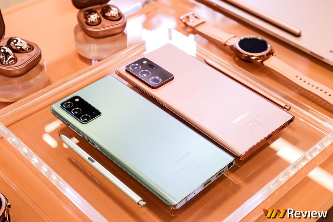Samsung công bố giá Galaxy Note 20 và Note 20 Ultra tại Việt Nam: 24-33 triệu đồng, bán từ 21/08