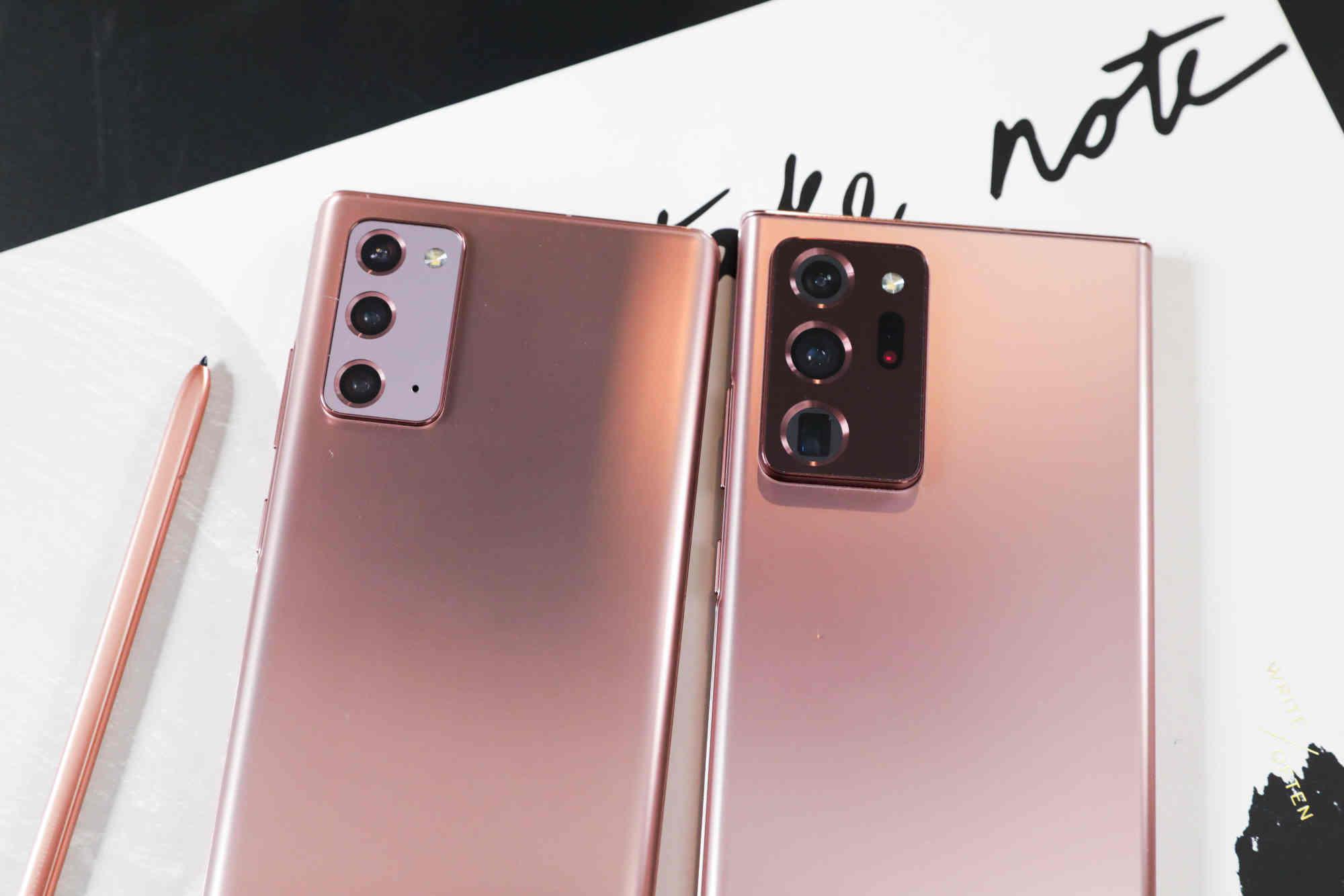 Samsung không tự tin về doanh số Galaxy Note20