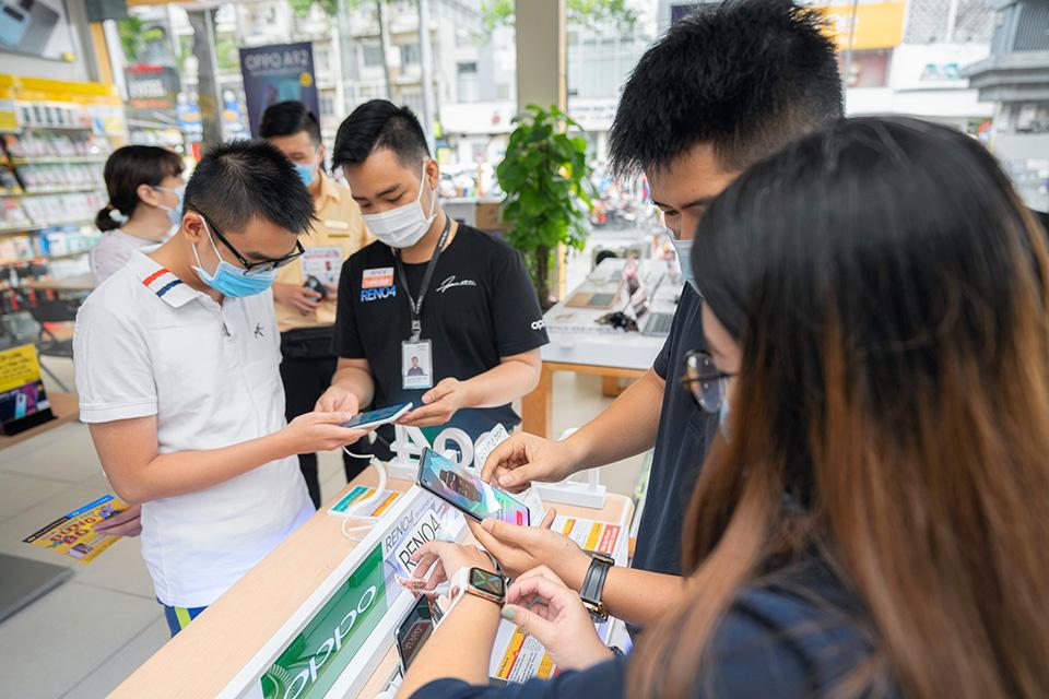 Oppo bắt đầu mở bán Reno4, Reno4 Pro và Oppo Watch ở Việt Nam