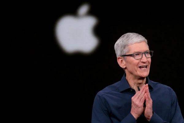 Giá trị vốn hóa thị trường của Apple sắp chạm ngưỡng 2.000 tỷ USD
