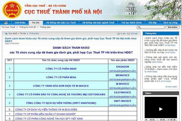 Hóa đơn điện tử Bkav eHoadon được đánh giá cao