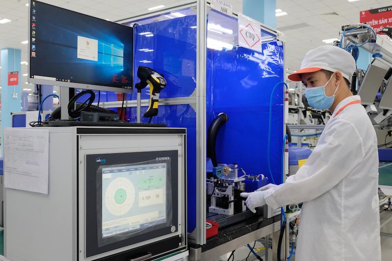 Vingroup sản xuất linh kiện máy thở cho Medtronic, xuất đi Mỹ và Ireland