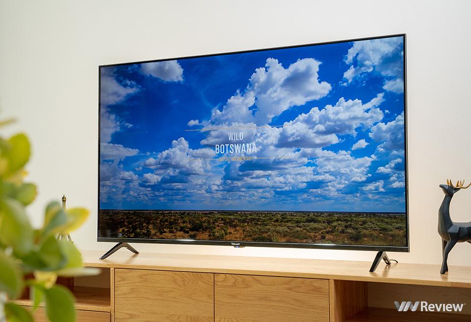 Trải nghiệm nhanh TV Vsmart 55KE8500: viền mỏng, chạy Android, màn 4K độ sáng cao