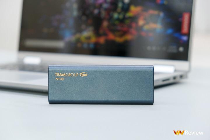 Đánh giá SSD di động TeamGroup PD1000 512GB: Một quyết định đơn giản