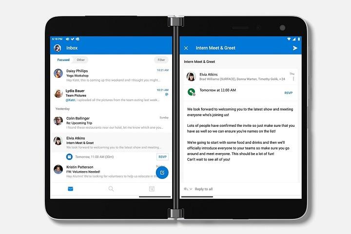 Microsoft Surface Duo: thiết bị Android tham vọng thay thế máy tính