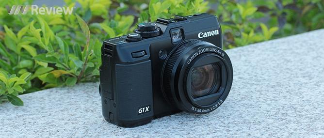 Đánh giá máy ảnh số Canon PowerShot G1 X