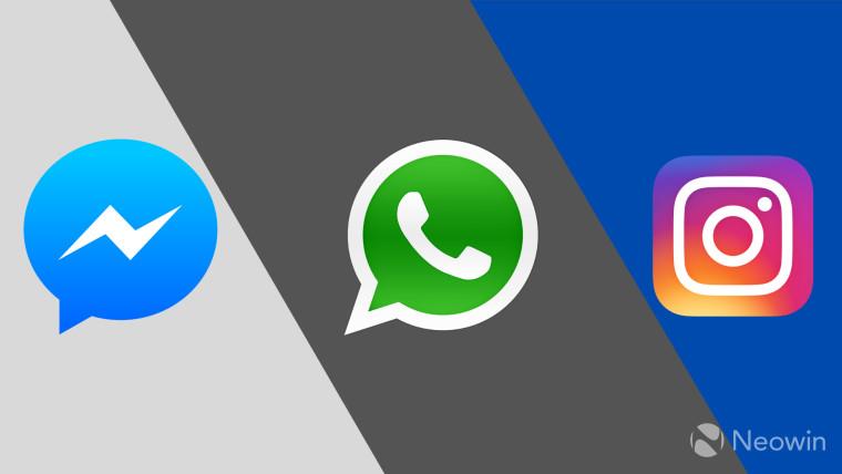 Facebook dường như đang bắt đầu gộp Messenger, Instagram và WhatsApp lại với nhau