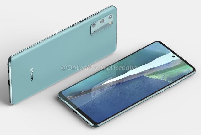 Lộ ảnh render Samsung Galaxy S20 Fan Edition, cắt giảm thiết kế và camera, nhường chỗ cho cấu hình