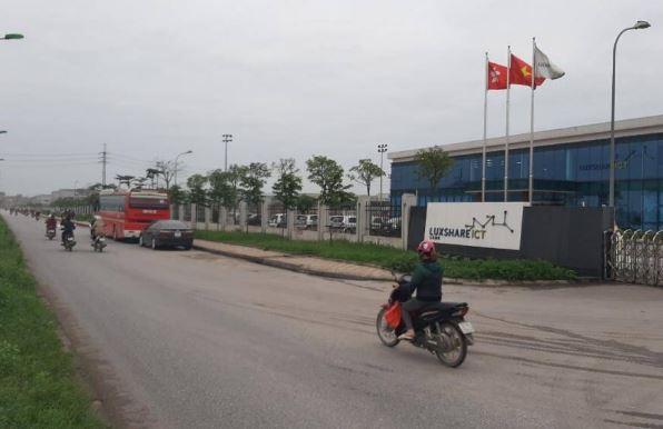 Apple chưa cho Luxshare lắp ráp iPhone ở Bắc Giang do ký túc xá chưa đạt yêu cầu