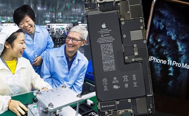"""Với sự giúp đỡ từ Apple, Luxshare sẽ giành """"vương miện"""" của Foxconn?"""
