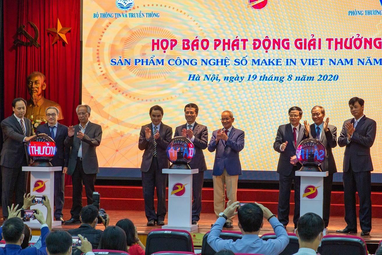 Lần đầu tiên có giải thưởng tôn vinh sản phẩm công nghệ số 'Make in Vietnam'