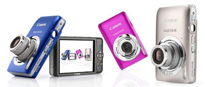 Top 10 máy ảnh compact bán chạy tháng Sáu