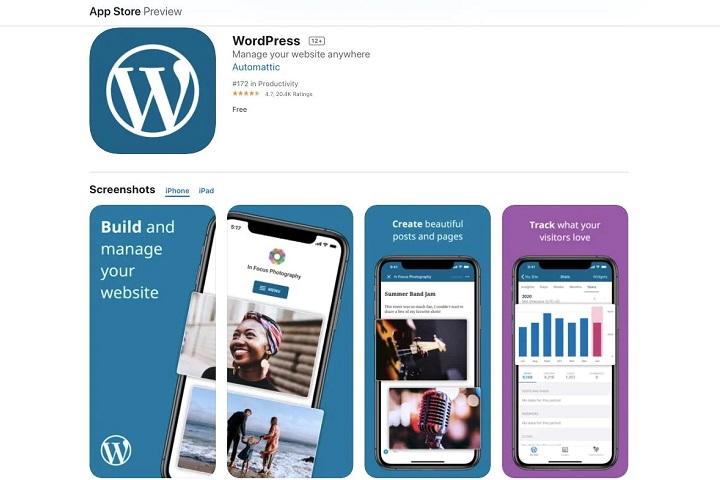 WordPress bị chặn cập nhật trên iOS cho đến khi bổ sung khả năng thanh toán trong ứng dụng