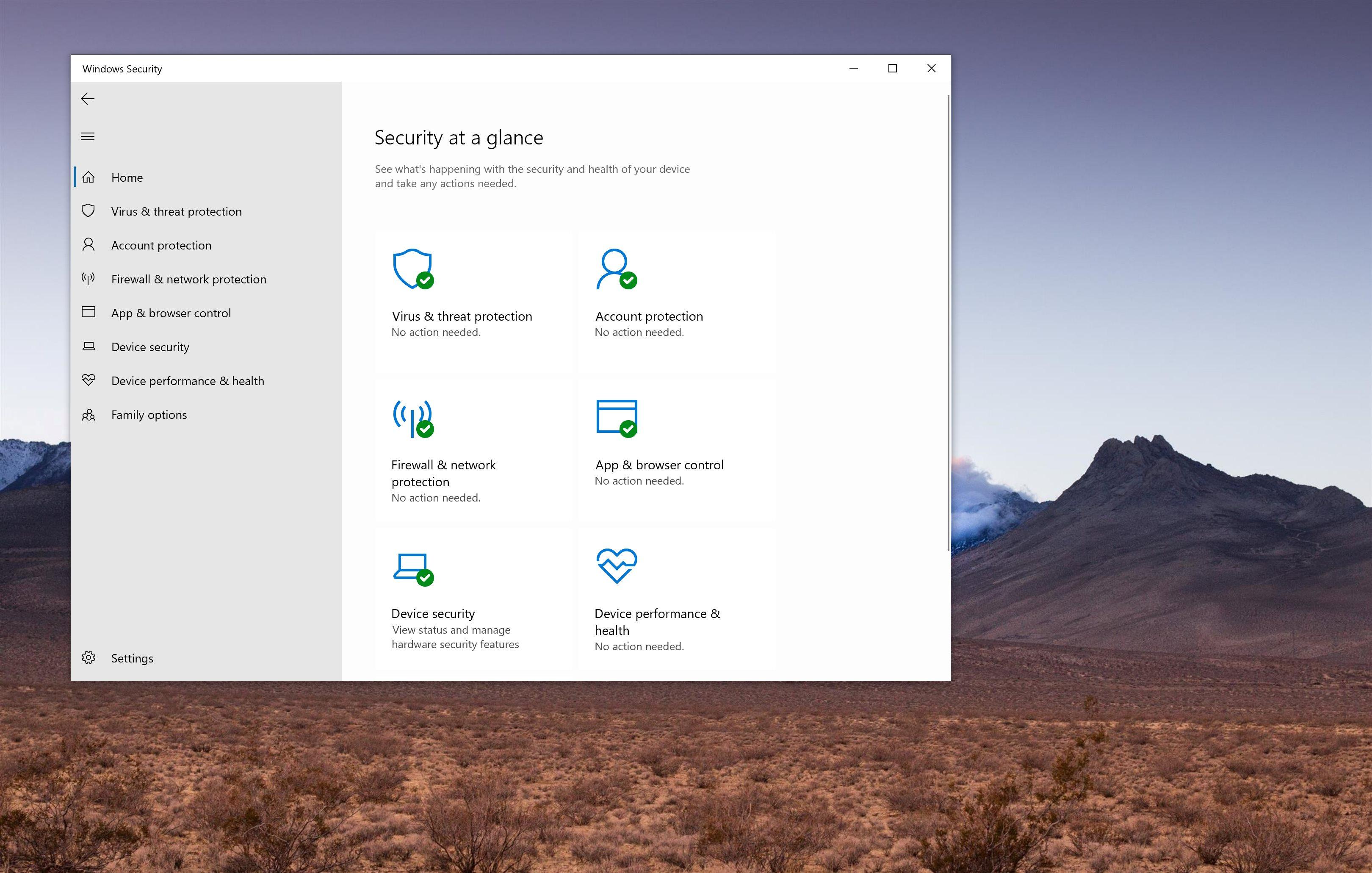 Microsoft lặng lẽ thực hiện một thay đổi trong trình antivirus có sẵn trên Windows 10