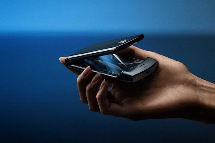 Lộ hình ảnh mọi góc cạnh của Motorola RAZR 5G